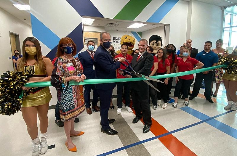 Silver State Schools Credit Union Celebrate First In-School Branch Opening at the Southeast Career Technical Academy High School
