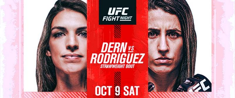 Top Strawweight Contenders (#4) Mackenzie Dern and (#6) Marina Rodriguez Face Off at UFC Apex in Las Vegas
