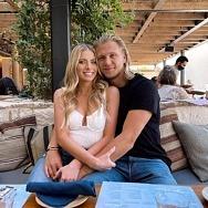 VGK Star William Karlsson Enjoys Brunch at Kassi Beach House Inside Virgin Hotels Las Vegas