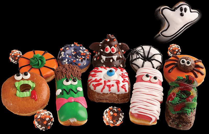Celebrate Halloween All Month Long at Pinkbox Doughnuts