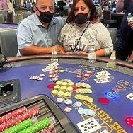 Caesars Rewards Member Hits Mega Progressive Jackpot on Blazing 7's Blackjack for $132,062 at Planet Hollywood Resort & Casino