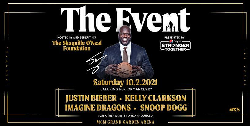 Justin Bieber, Kelly Clarkson, Imagine Dragons, Snoop Dogg to Headline the Shaquille O'Neal Foundation Gala October 2