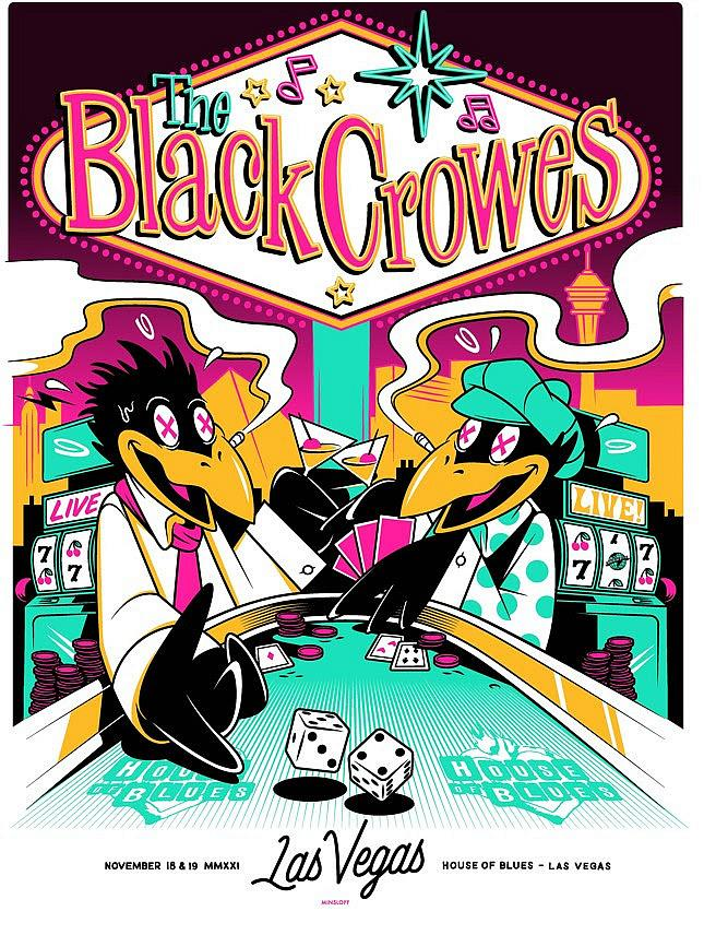 The Black Crowes Present: Shake Your Money Maker at House of Blues Las Vegas