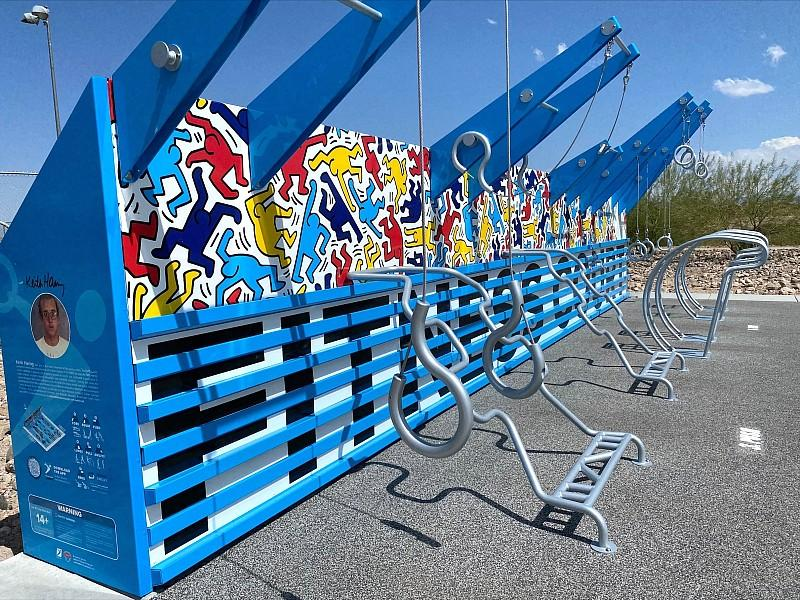 Henderson to Host Ribbon Cutting for Nation's First of a Kind Keith Haring Fitness Court