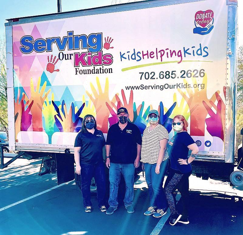 Serving Our Kids Foundation Hosts Emergency Food Drive, Saturday, October 9