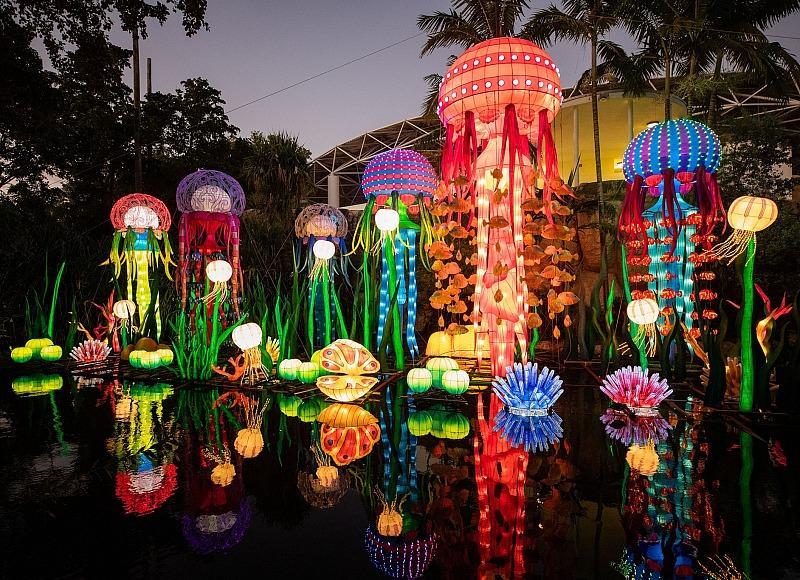 Festival of Lanterns at Cowabunga Bay