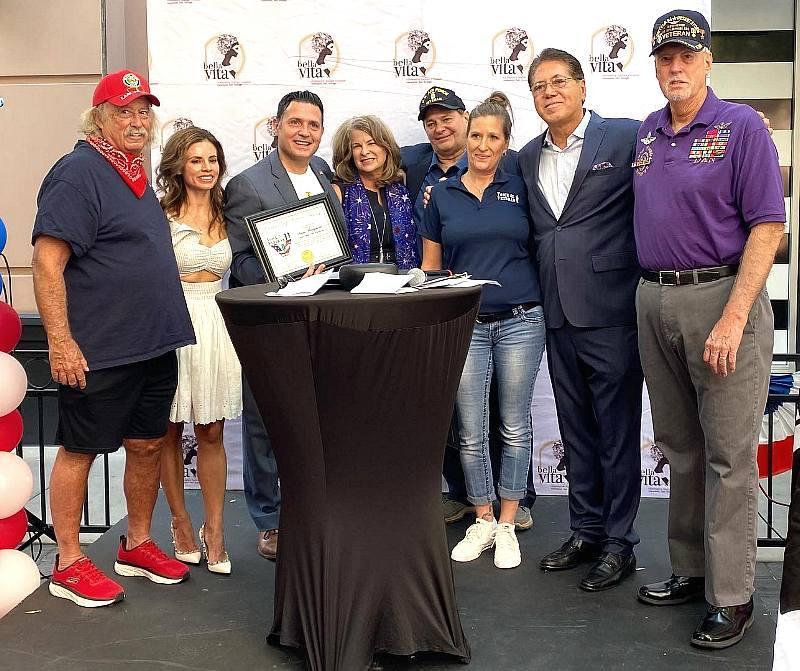 Bella Vita Honors Veterans and Hosts Nightlife Event