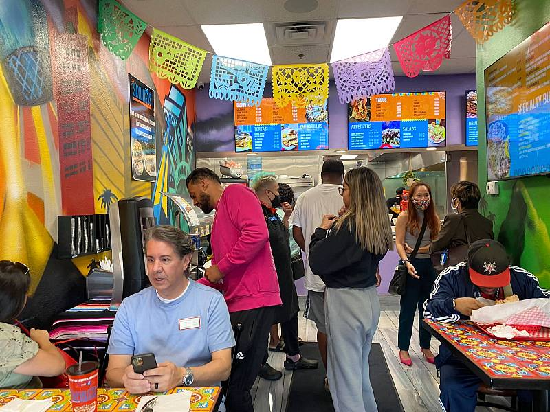 Grand Opening of Sayulita's Mexican Food on The Strip