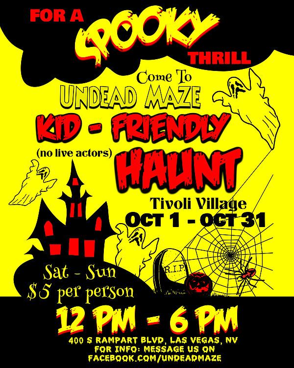 Undead Maze and Haunted House