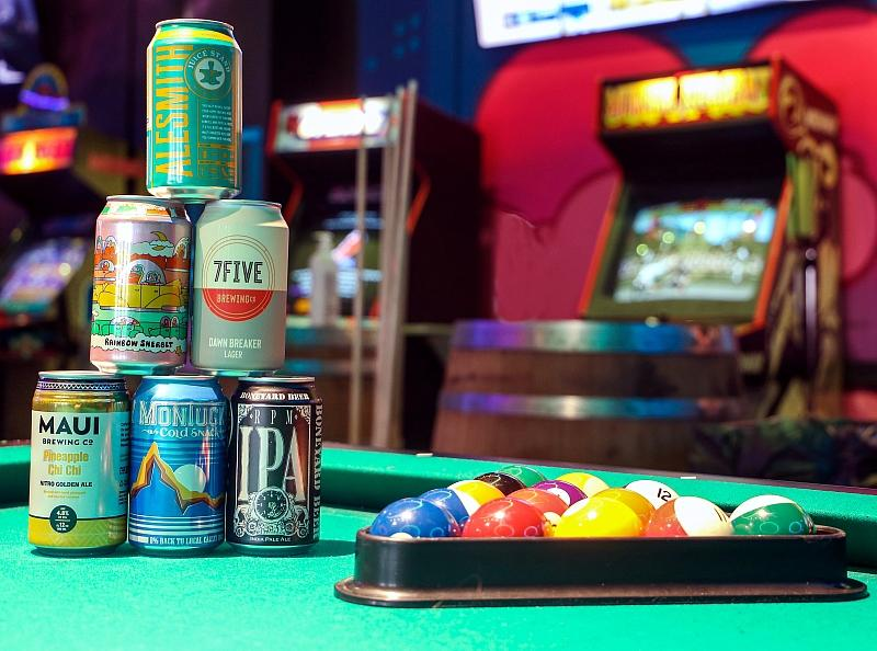 Emporium Arcade Bar Las Vegas Celebrates National American Beer Day, Oct. 27
