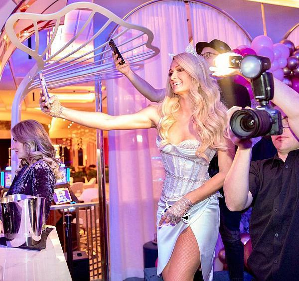 Paris Hilton at Resorts World Las Vegas