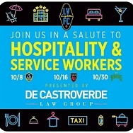 De Castroverde Law Group and Lights FC Team Up to Salute Hospitality and Service Workers with Free Tickets for Oct. 16 and 30 Games