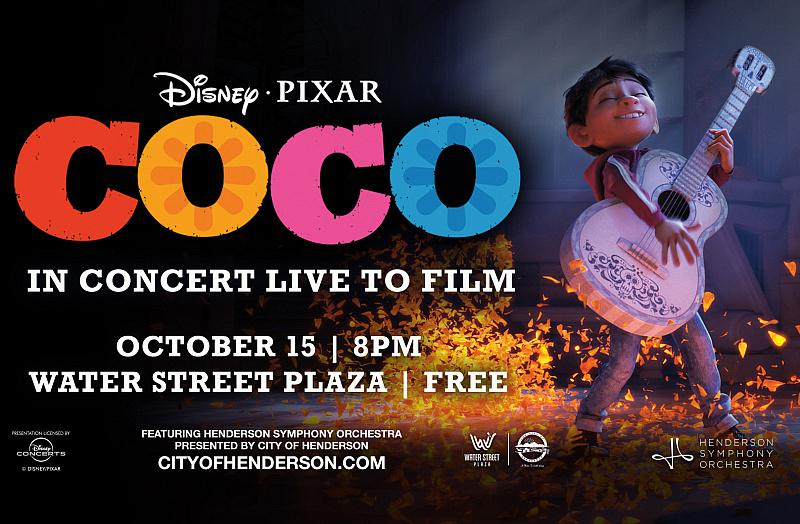 """Henderson Symphony Orchestra to Perform Live to Disney and Pixar's """"Coco"""" in Concert"""