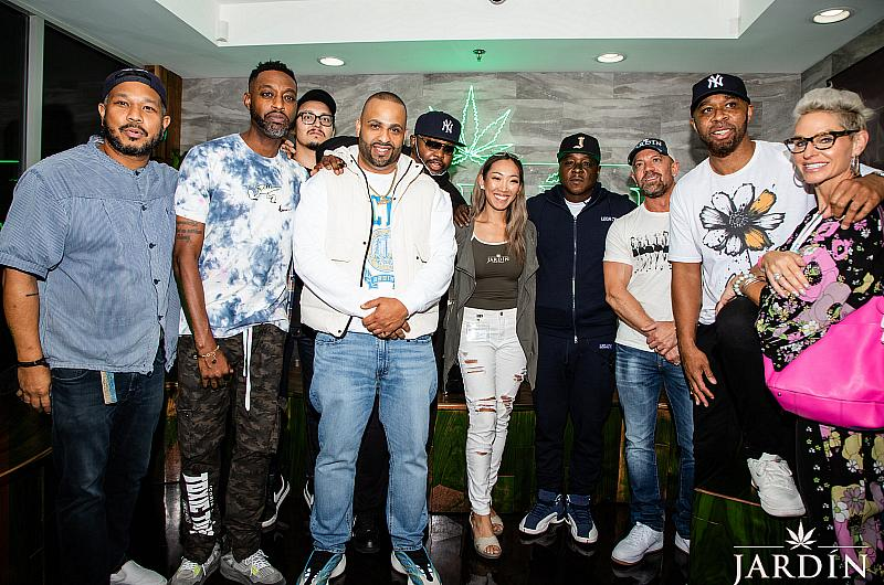 Jadakiss Spotted as a Special Guest Budtender at Jardín Premium Cannabis Dispensary in Las Vegas