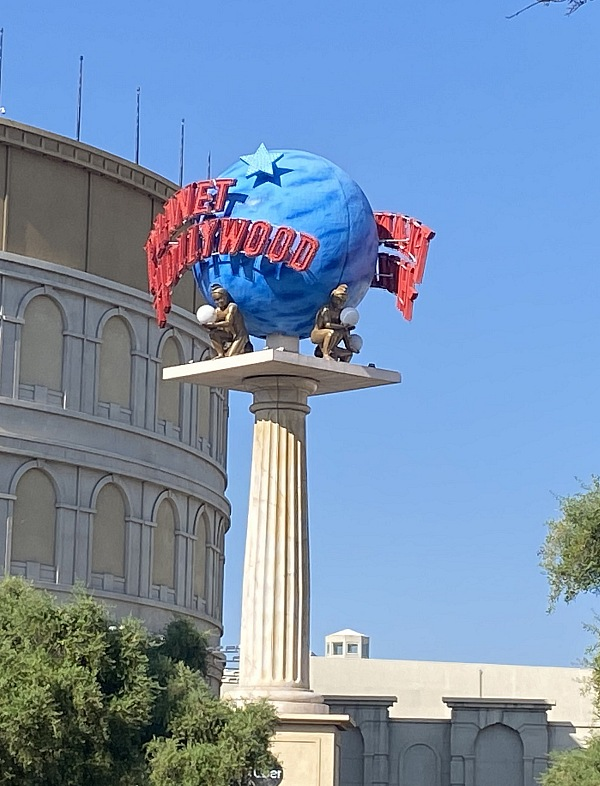 The Neon Museum Receives Famed Planet Hollywood Sign