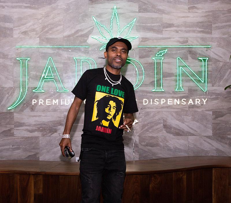 Lil Duval Spotted at Jardin Premium Cannabis Dispensary in Las Vegas