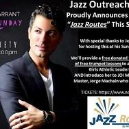 "Jazz Outreach Initiative Announces ""Jazz Routes"""