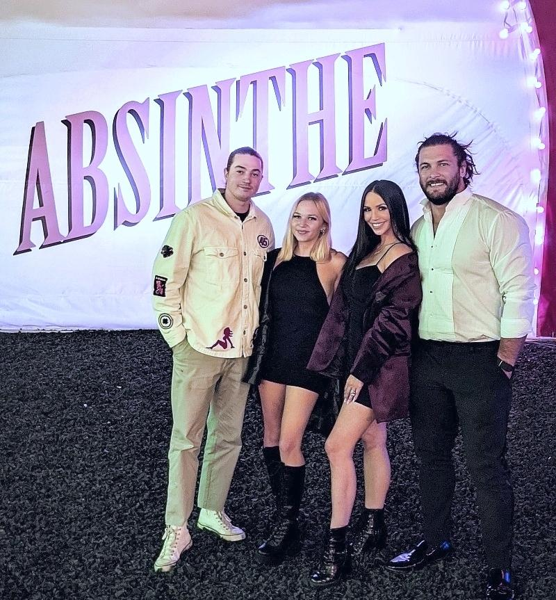 """Scheana Shay from """"Vanderpump Rules"""" Attends ABSINTHE at Caesars Palace"""