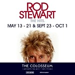 Sir Rod Stewart Extends His Hit Las Vegas Residency Into 11th Year with New 2022 Concerts