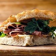 Artisan Sandwich Shop Via Focaccia Opens Today at Ellis Island Hotel, Casino & Brewery