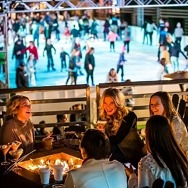 The Ice Rink Returns to The Cosmopolitan of Las Vegas for Its Tenth Holiday Season, Nov. 16
