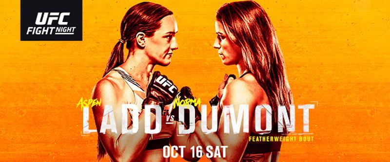 Aspen Ladd Battles Norma Dumont in Women's Featherweight Thriller at UFC Apex in Las Vegas