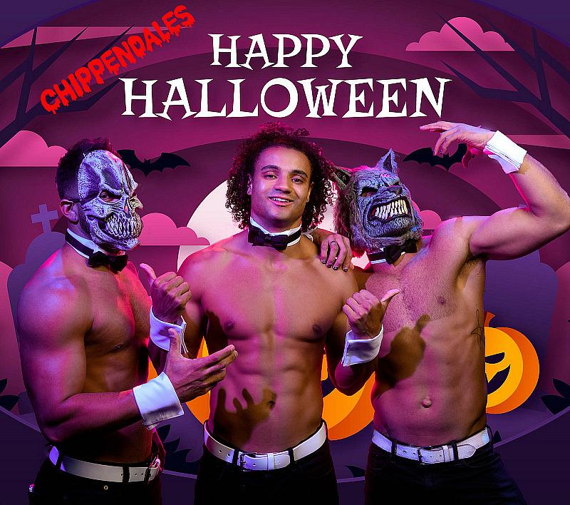 """Be Thrilled and Chilled for """"Hunktoberfest"""" as Chippendales Create the Sexiest and Spookiest Playground for Halloween"""