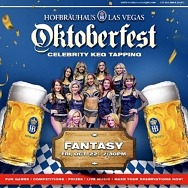 Oktoberfest Celebrations Continue at Hofbräuhaus Las Vegas This Weekend with the Cast of FANTASY and BMX Star Ricardo Laguna